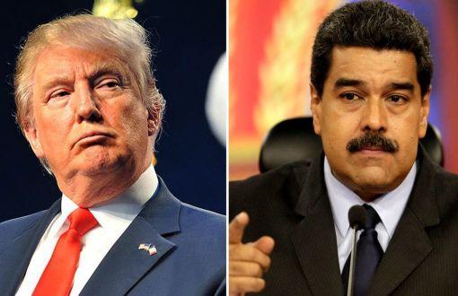 ABD Venezuelayla Ticari Likileri Kesti Maduro Beni Yldrmaz